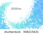 blue circle abstract background ... | Shutterstock .eps vector #508215631