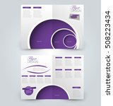 abstract flyer design... | Shutterstock .eps vector #508223434