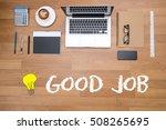 good job  perfect  success... | Shutterstock . vector #508265695