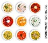 Big Set Soups From Worldwide - Fine Art prints