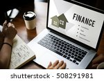 real estate mortgage loan... | Shutterstock . vector #508291981