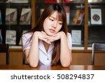 portrait of thai adult student... | Shutterstock . vector #508294837