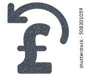 undo pound payment grainy...   Shutterstock .eps vector #508301059