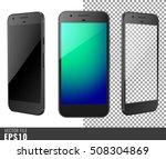realistic set vector... | Shutterstock .eps vector #508304869