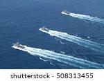 Navy Patrol Boat In Fast Speed...