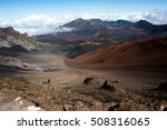 haleakala national park on the... | Shutterstock . vector #508316065