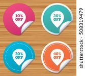 sale pointer tag icons.... | Shutterstock .eps vector #508319479