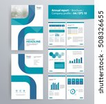 page layout for company profile ... | Shutterstock .eps vector #508326655