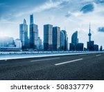 inner city highway in china. | Shutterstock . vector #508337779