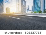 inner city highway in china. | Shutterstock . vector #508337785