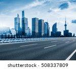 inner city highway in china. | Shutterstock . vector #508337809