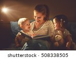 happy family mother and... | Shutterstock . vector #508338505