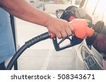 car refueling on gas station.... | Shutterstock . vector #508343671