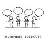 public relations communication... | Shutterstock .eps vector #508347757