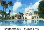 3d Rendering Villa