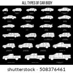 all types of car body. car type ... | Shutterstock .eps vector #508376461