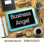 Business Angel Concept On Smal...