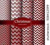 christmas pattern. merry... | Shutterstock .eps vector #508412599