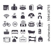 collection of vector icons for... | Shutterstock .eps vector #508418755
