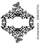 rose fowers black and white... | Shutterstock .eps vector #508426741