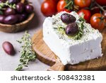 greek cheese feta with thyme...