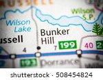 bunker hill. kansas. usa. | Shutterstock . vector #508454824