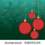 christmas balls   christmas... | Shutterstock .eps vector #508455154