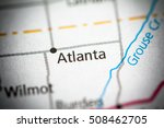 atlanta. kansas. usa. | Shutterstock . vector #508462705