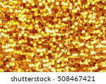 Sparkling  Metallic  Golden ...