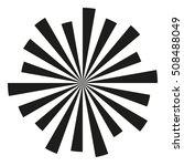 radial rays background.... | Shutterstock .eps vector #508488049