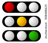 set of traffic lamp  traffic... | Shutterstock .eps vector #508488625