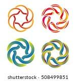 design vector logo template.... | Shutterstock .eps vector #508499851