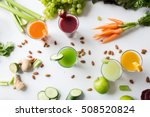 healthy eating  drinks  diet... | Shutterstock . vector #508520824