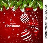 vector illustration christmas... | Shutterstock .eps vector #508527055