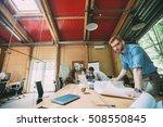 portrait of confident designer  ... | Shutterstock . vector #508550845