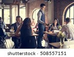 restaurant chilling out classy... | Shutterstock . vector #508557151