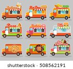 set of vector illustrations... | Shutterstock .eps vector #508562191
