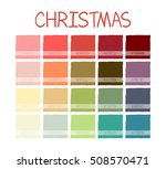 christmas colorful tone colors. ... | Shutterstock .eps vector #508570471