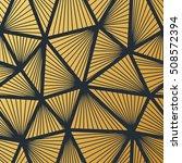 art deco seamless vintage... | Shutterstock .eps vector #508572394