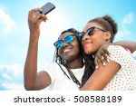 close up portrait of two... | Shutterstock . vector #508588189