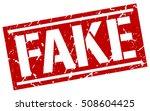 fake. grunge vintage fake... | Shutterstock .eps vector #508604425