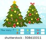 christmas theme activity sheet  ... | Shutterstock .eps vector #508610311