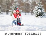 happy family mother and child... | Shutterstock . vector #508626139