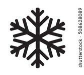 snowflake icon illustration...   Shutterstock .eps vector #508628089