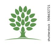 tree logo vector. | Shutterstock .eps vector #508632721