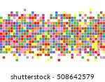 abstract squares background.... | Shutterstock .eps vector #508642579
