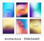 brochure or flyer layout in a4... | Shutterstock .eps vector #508656685