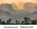 viewpoint from the tiger temple ... | Shutterstock . vector #508666189