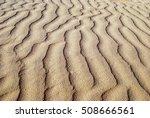 Wavelike Ripples Of Sand