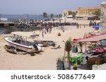 goree island  dakar  senegal  ...   Shutterstock . vector #508677649